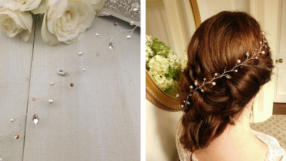 """Charlotte""  Hair: Hazel at  Hairoics Mobile Hair and Beauty ; Venue:  Clevedon Hall"