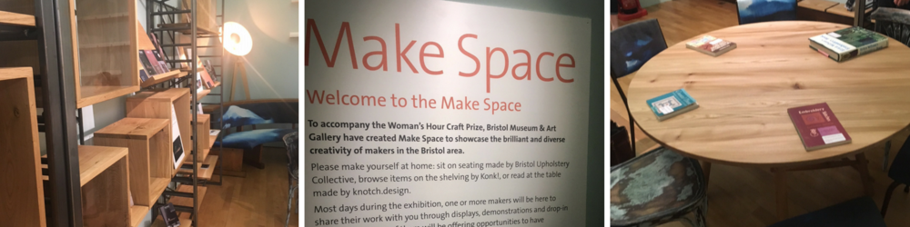 A peek into the Make Space at  Bristol Museum and Art Gallery