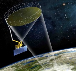 NASA's Soil Moisture Active Passive, or SMAP, spacecraft will provide global measurements of soil moisture. See:  Watermark , January 6 .