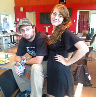 Jacob Land and Julie Merritt
