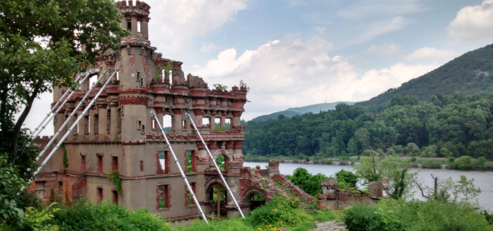 Bannerman's Castle.  Photo by Paula Butler