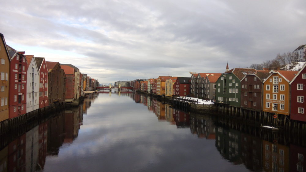 View from the Old Bridge over the Nidelva