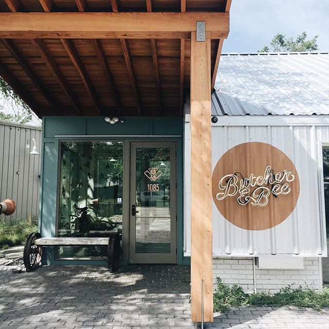 We love this Charleston spot! @butcherandbee #charleston #noshtalks #foodandbeverage