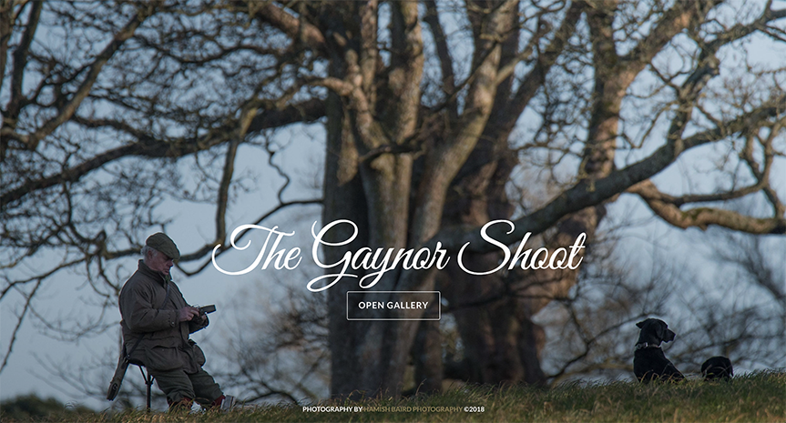 32) The Gaynor Shoot - 1st December, 2017.