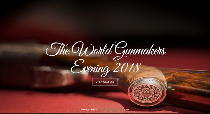 37) The World Gunmakers Evening - 17th May, 2018.