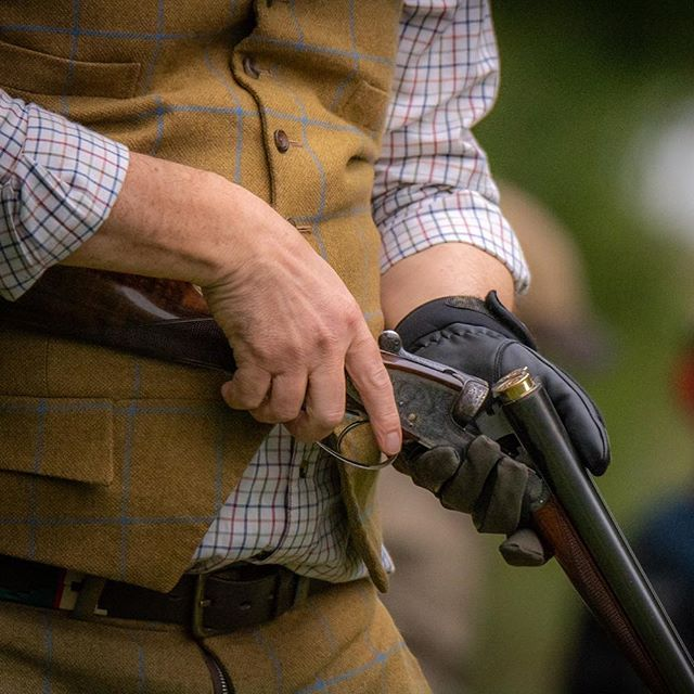 Lock, load and eyes to the sky... #hamishbaird_photography #fieldsportsphotography #pheasantshooting #shootingdorset