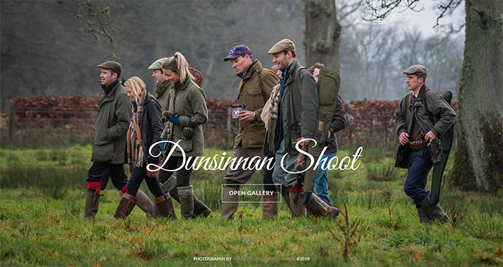 47) The Dunsinnan Estate Shoot - 1st December 2018