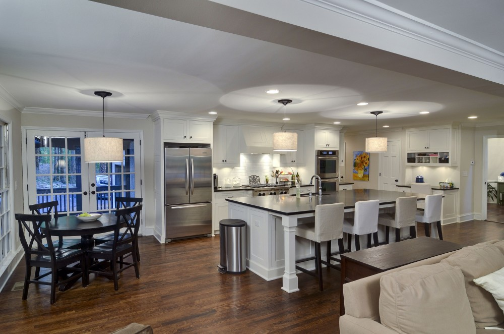 8458 Complete Kitchen Remodel Including Countertops And Solid Wood Cabinets MARS Construction