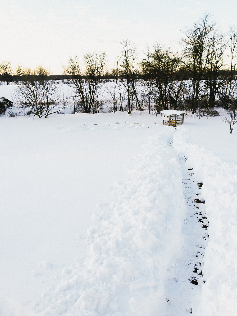 Pennsylvania snowfall
