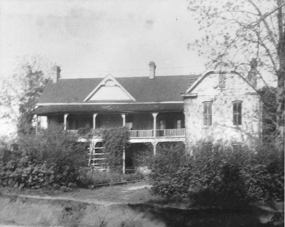 One of the first homes in Evergreen