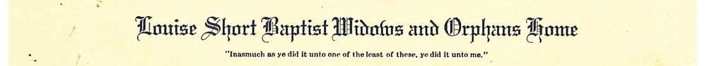 Letterhead from the 1920s