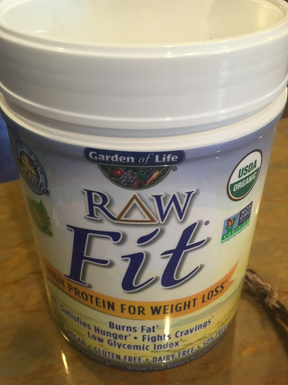 garden of life raw fit smoothie with green super food recipe