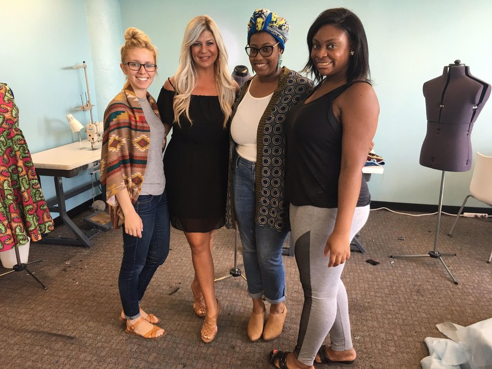 #TeamDFN Visits the Detroit Garment Group -