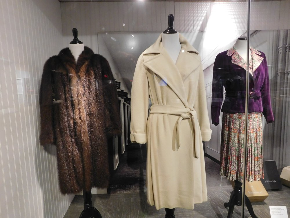 Coats carried at Hudson's Department Store.