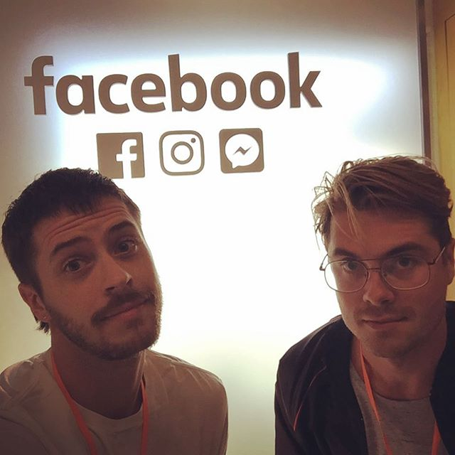 Forced #JefferyLive upon the folks at Facebook today with @jakewil and good things are ahead.