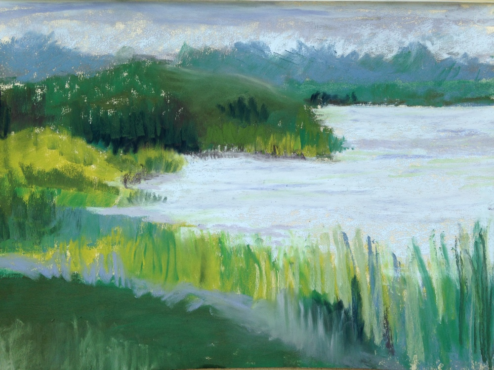 Maurice River Painting One