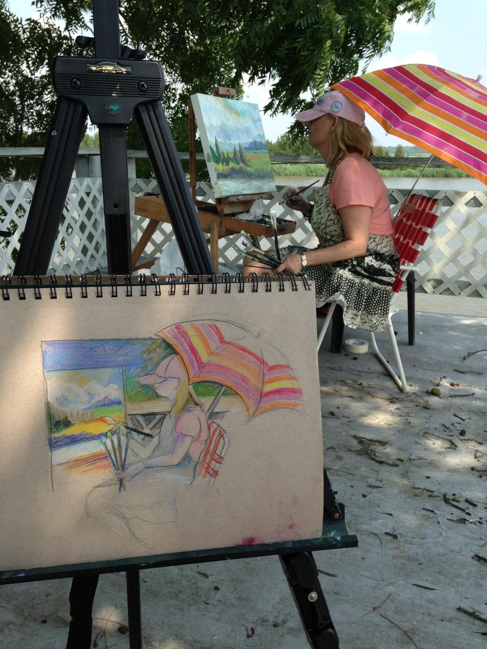 Painting Lorraine