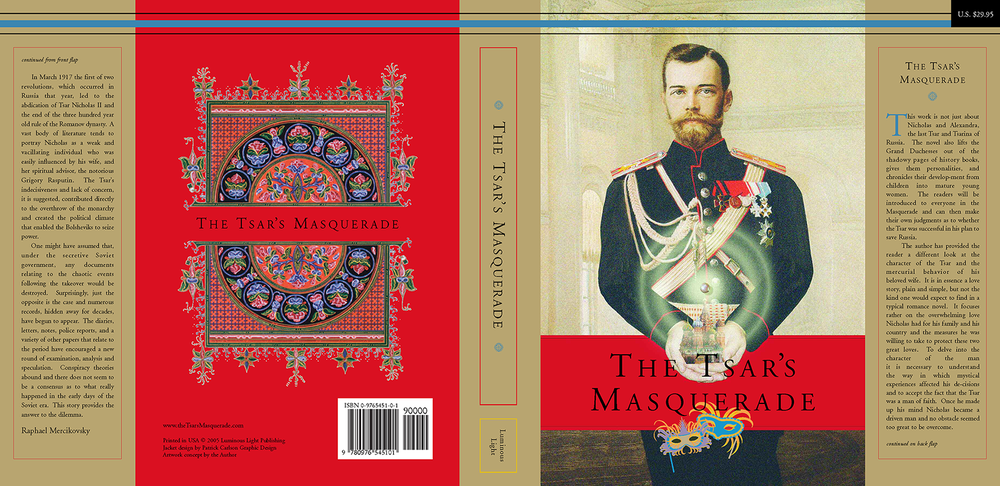 The Tsar's Masquerade Dust Jacket
