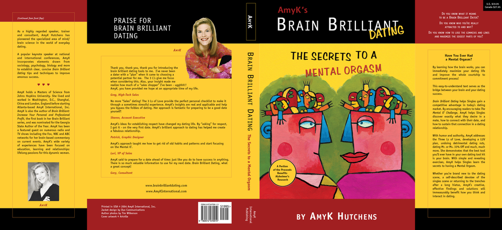 Brain Brilliant Dust Jacket