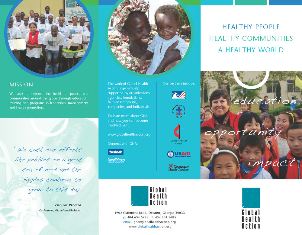 Global Health Action Brochure