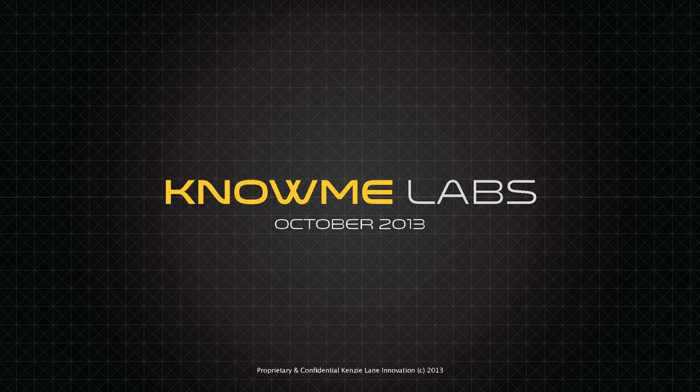 KnowMe Labs Presentation