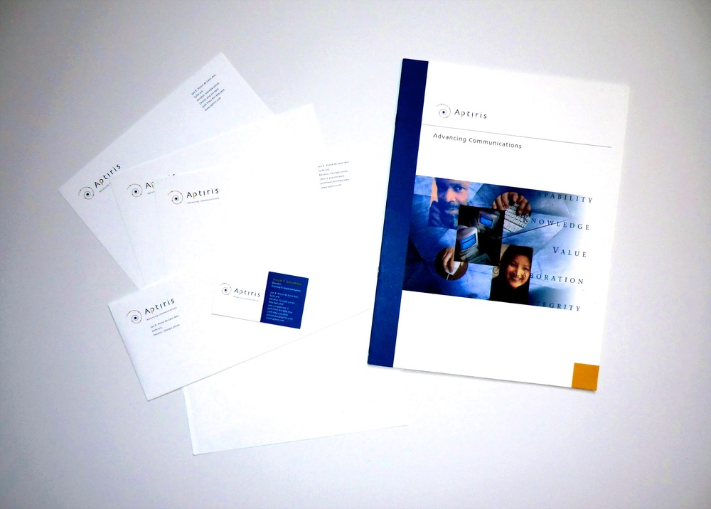 Aptiris Office and Marketing Collateral