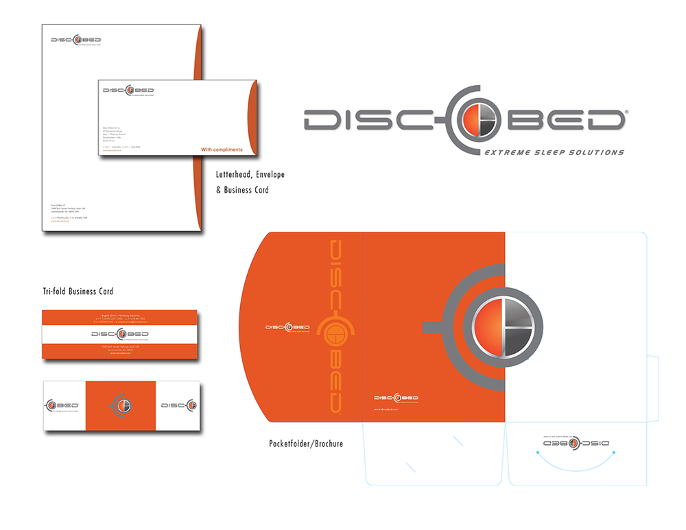 DiscOBed Office and Marketing Collateral