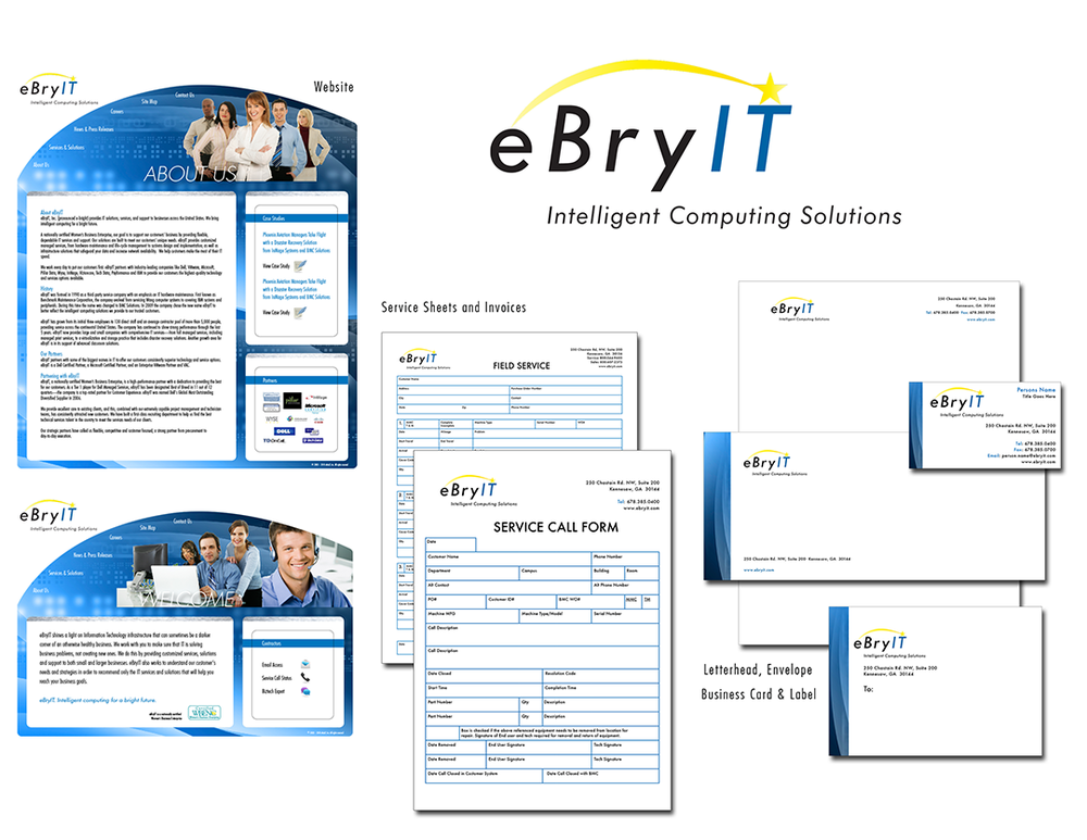 eBryIT Branding, Office, and Marketing Collateral