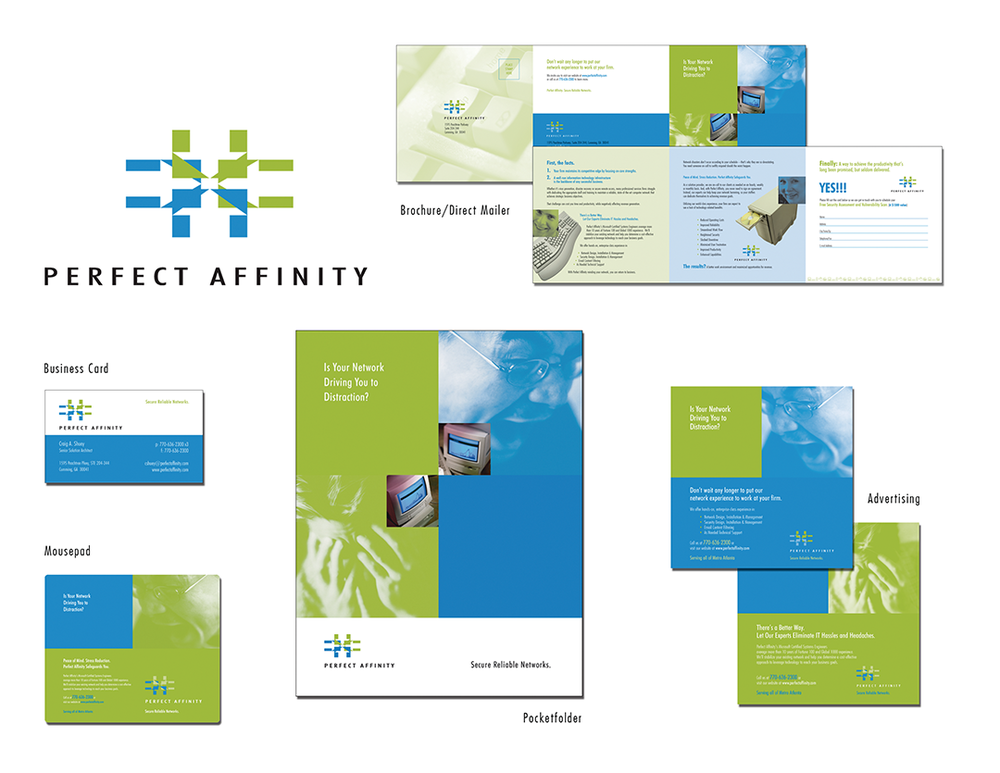 Perfect Affinity Marketing Collateral