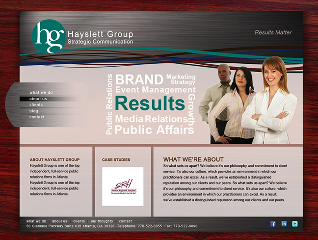 Hayslett Group Website