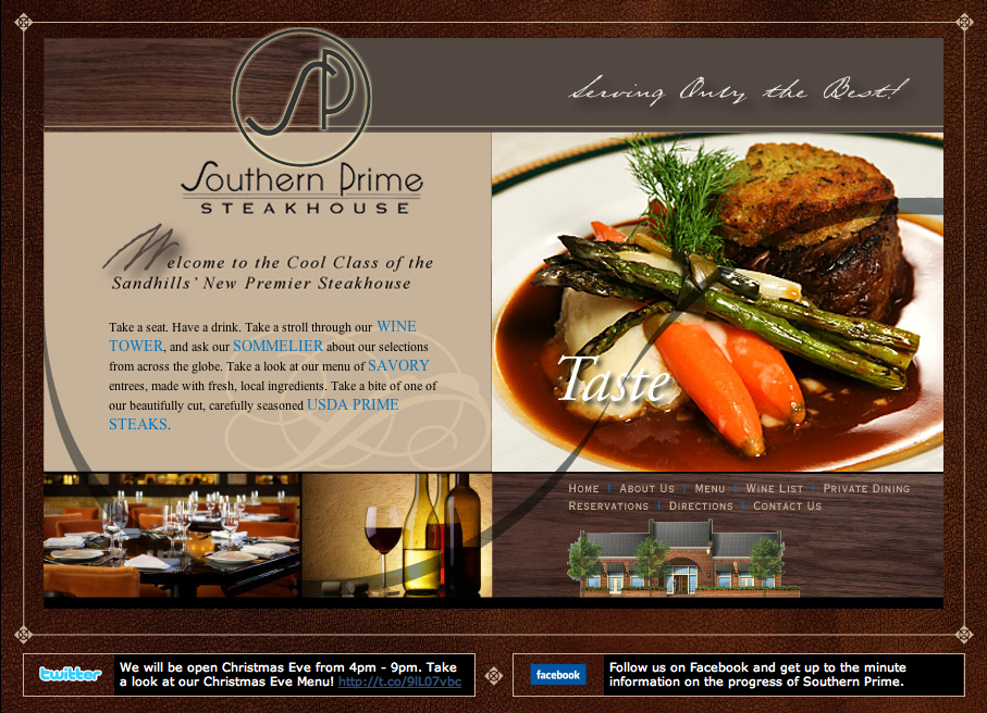Southern Prime Website