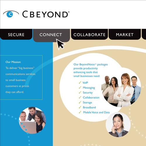 Cbeyond Trade Show Display Design