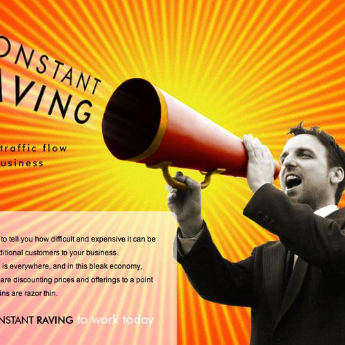 Constant Raving Website Design and Develpment