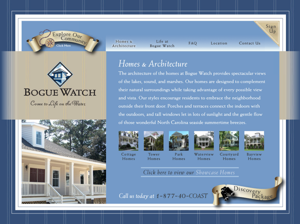 Bogue Watch Homes Page