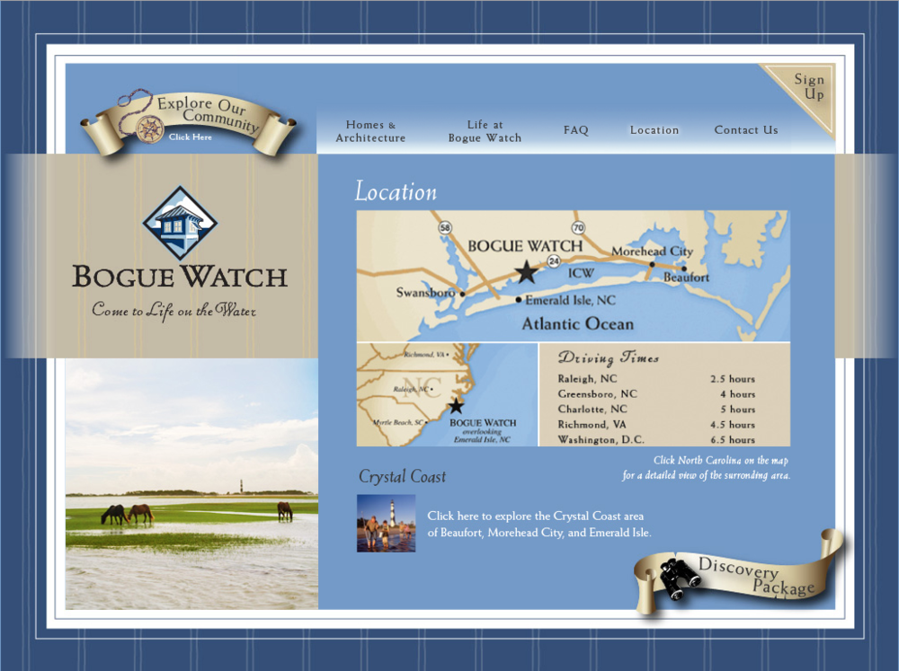 Bogue Watch Location Page
