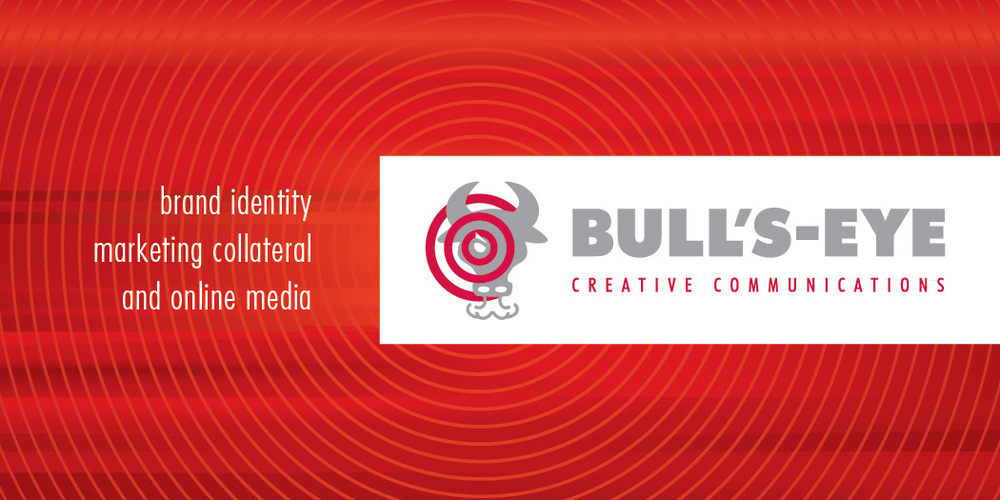 Bull's-Eye Business Card Front
