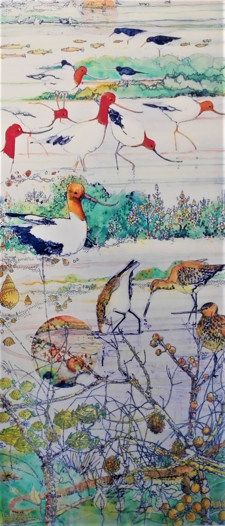 An Exaltation of Avocets and a Gathering of Godwits - SOLD