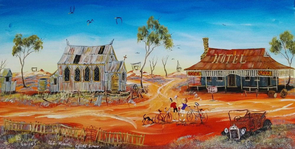 Ghost Town - SOLD