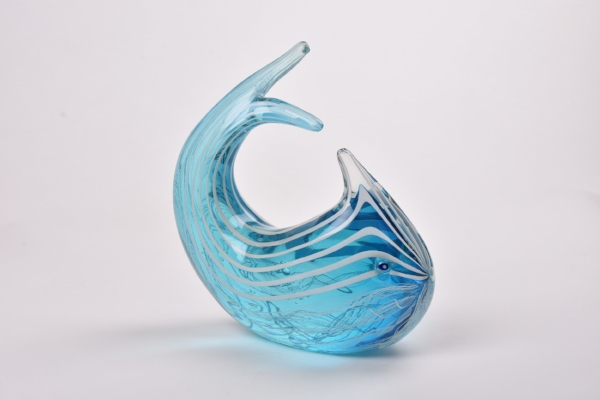 White Cane Blue Fish