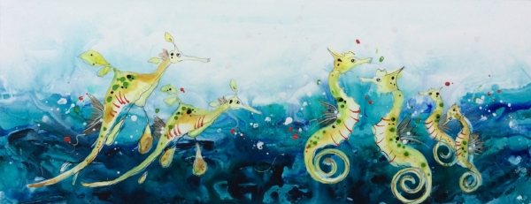 Sea Horse and Sea Dragons