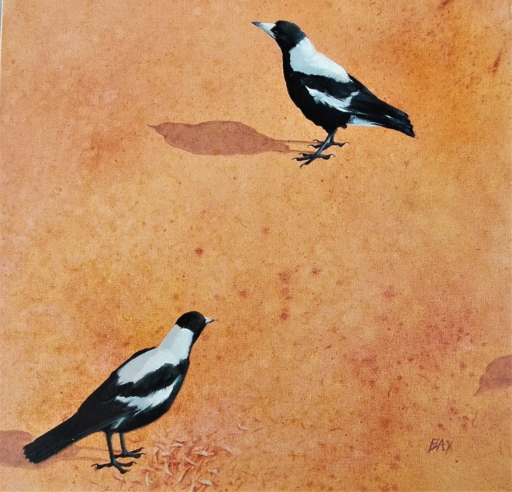 Magpie Study 1 - SOLD