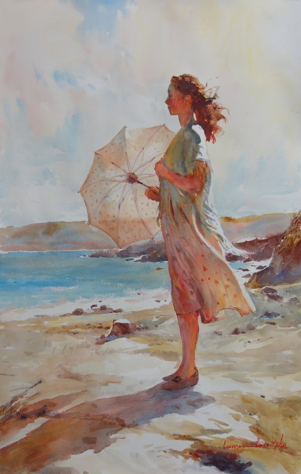 Warm Sea Breeze - SOLD