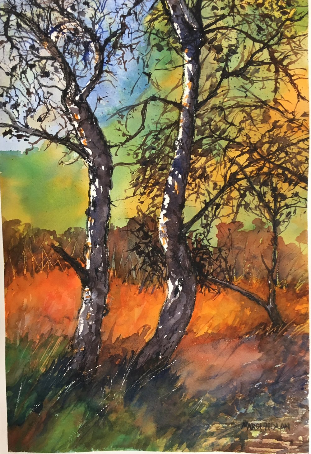 Two Trees - SOLD