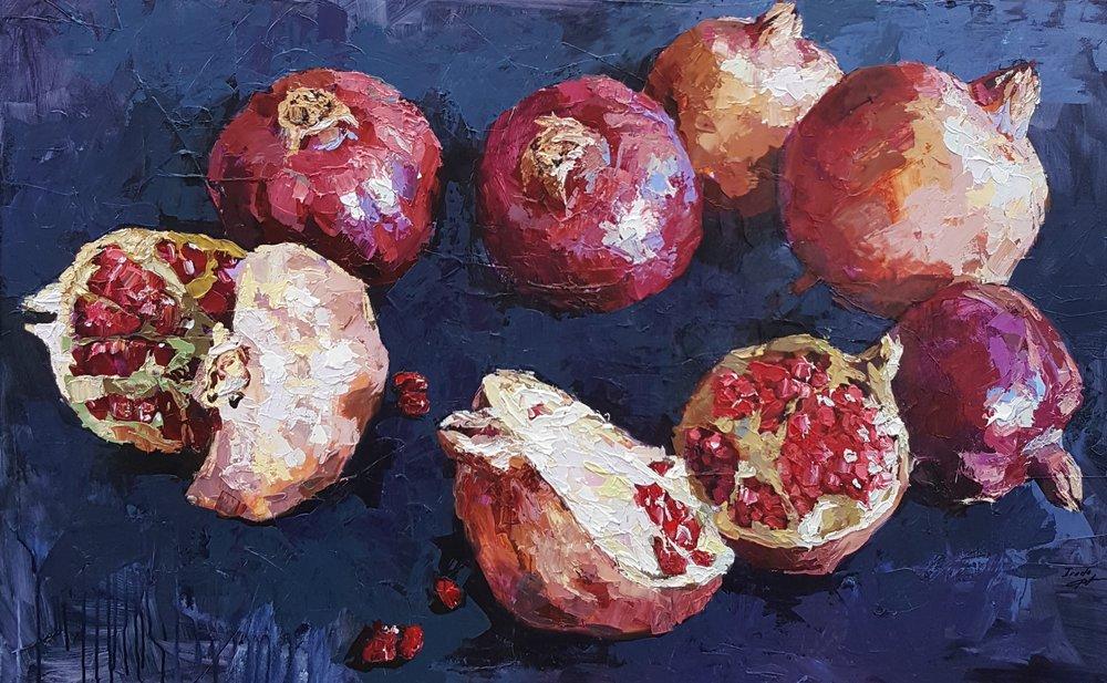 Pomegranates - SOLD