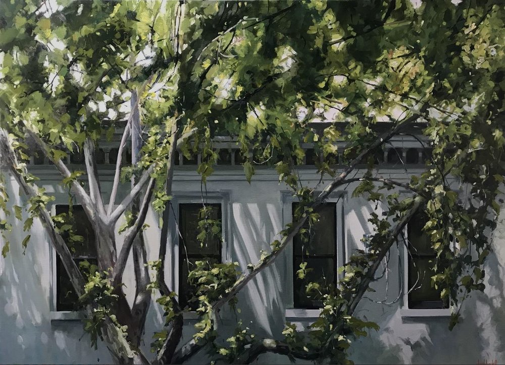 Caption:   Sundance 2 - No 1 Collins Street   168x122cm - Joe Blundell.