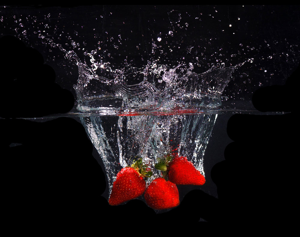 Strawberry splash 1 - SOLD