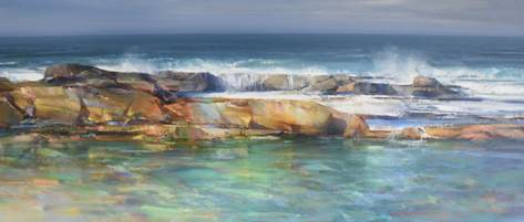 Angourie rock pools - SOLD