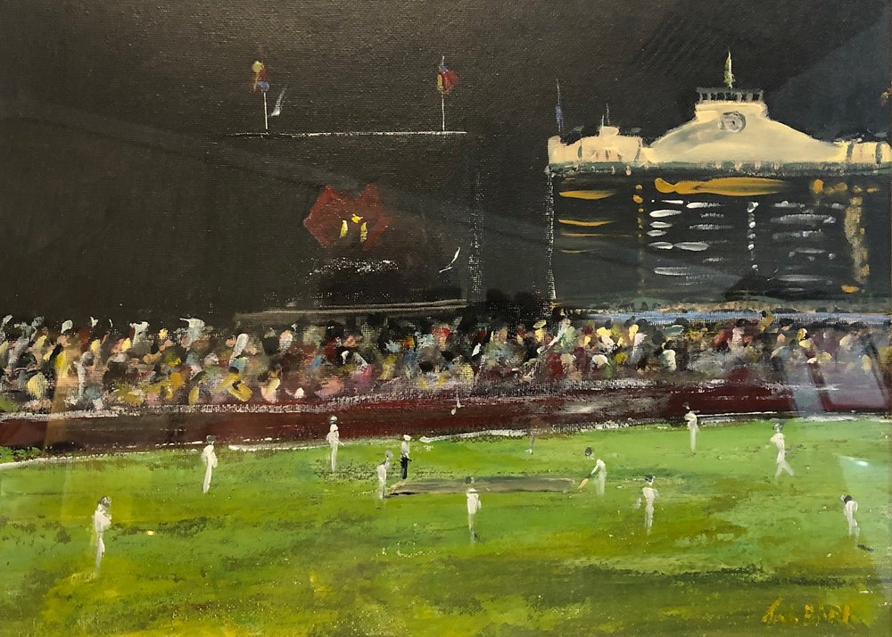 Night Game - Adelaide Oval - SOLD