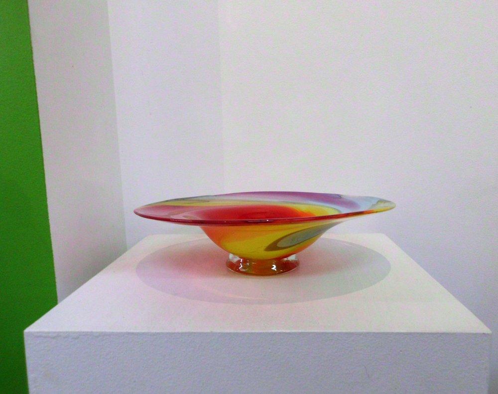 Rainbow Platter side profile