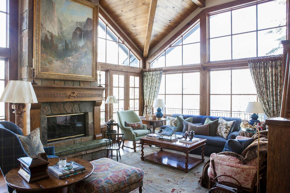 SMW Design   Vail   Living Room